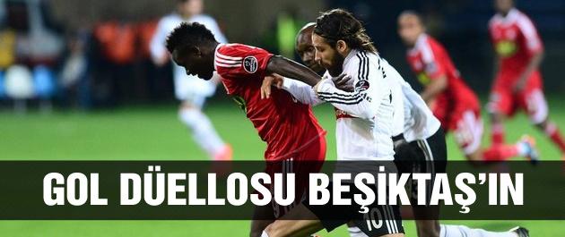 Beşiktaş Sivasspor'a geçit vermedi