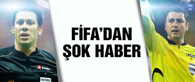 Hakemlerimize FIFA vetosu