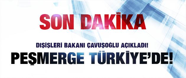 Bakan'dan son dakika Kobani açıklaması