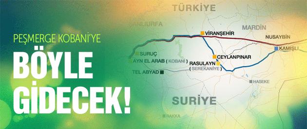 Kobani'ye koridorun detayları netleşti