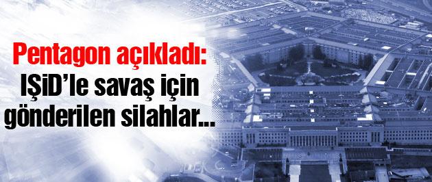 Pentagon'dan kritik 'IŞİD'e karşı silah' açıklaması