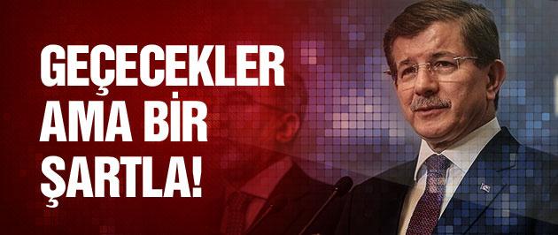 Davutoğlu'ndan peşmerge açıklaması