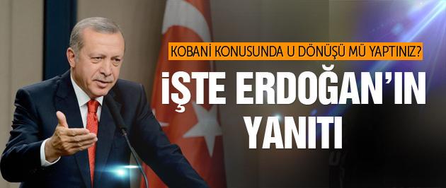 Kobani son dakika! Erdoğan'dan PYD açıklaması