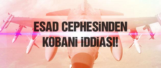 Esad cephesinden bomba Kobani iddiası!