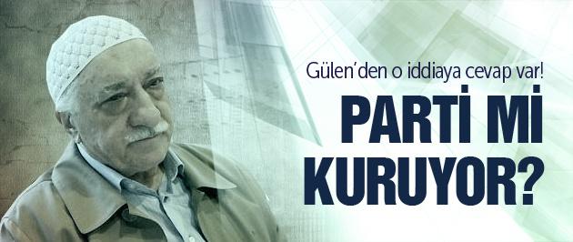 Fethullah Gülen'nden parti açıklaması