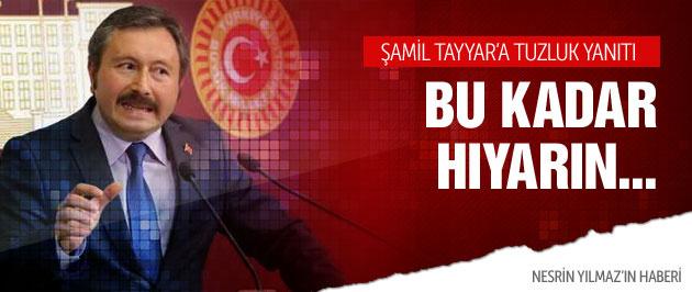 İdris Bal'dan Şamil Tayyar'a göndermeli tuzluk yanıtı!