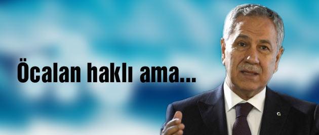Arınç'tan son dakika Öcalan'a sekreterya açıklaması