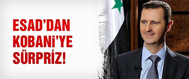 Esad'dan YPG'ye sürpriz!