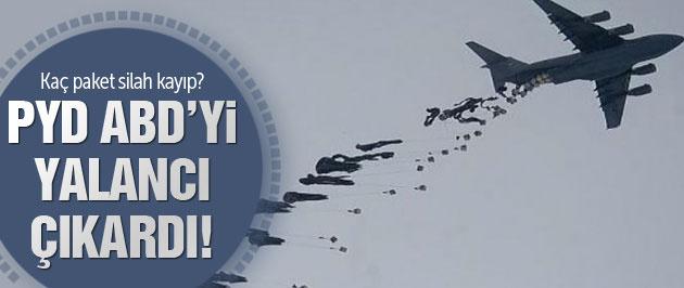 PYD ABD'yi yalancı çıkardı 2 paket silah nerede?