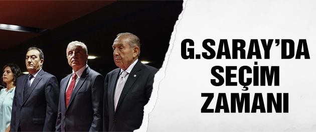 Galatasaray'da seçim zamanı!