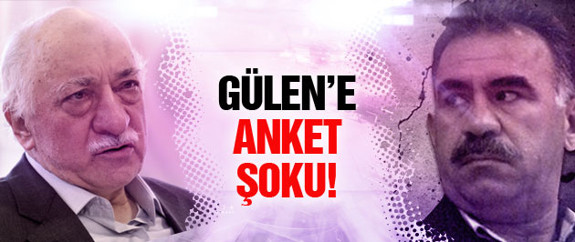 Fethullah Gülen'e anket şoku! Öcalan'ın bile gerisinde!