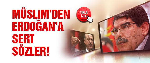 Salih Müslim'den Erdoğan'a 'terör' yanıtı!