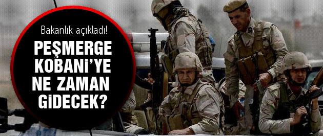 İşte Peşmergenin Kobani'ye gideceği tarih!