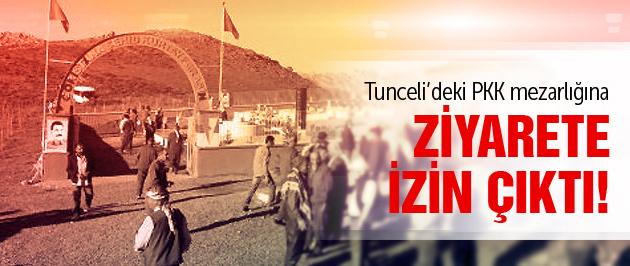 PKK mezarlığına ziyaret tansiyonu düşürdü
