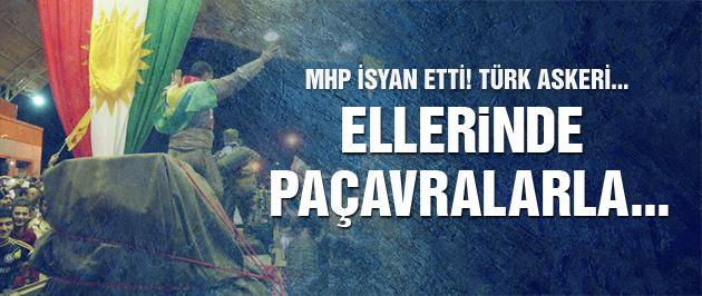 MHP'den peşmerge isyanı!