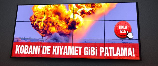 Kobani son durum! Sınırda kıyamet koptu!