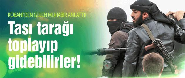 'IŞİD Kobani'den çekilmeyi tartışıyor!'