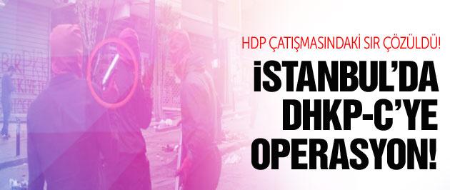 İstanbul'da terör operasyonu! O silah bulundu!