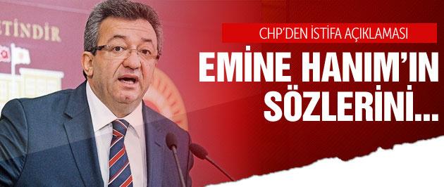 CHP'den istifa açıklaması!