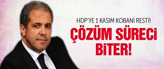 Şamil Tayyar HDP'ye rest çekti: Çözüm süreci biter!