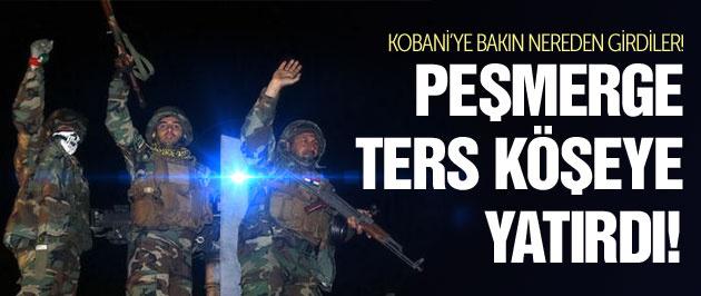 Peşmerge Kobani'de sağ gösterip sol vurdu!