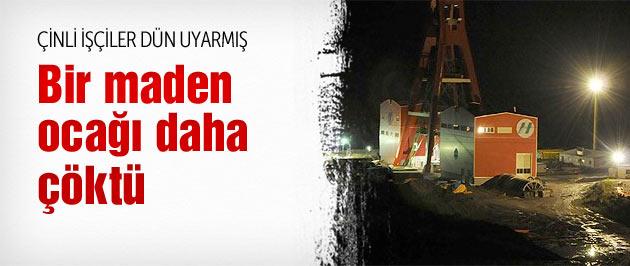 Bartın'da maden ocağı göçtü