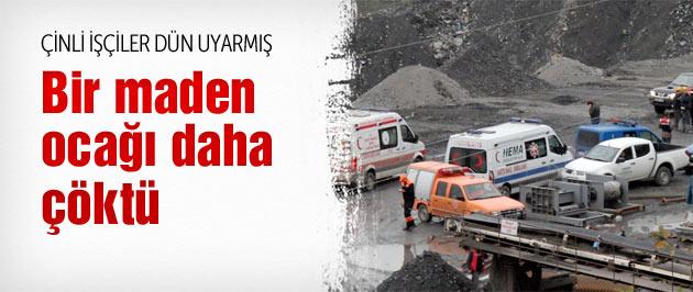 Bartın'da maden ocağı göçtü 2 Çinli işçi öldü