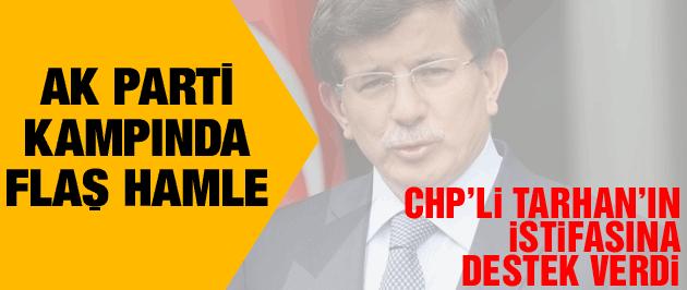 Davutoğlu Emine Ülker Tarhan'ın istifa mektubunu okudu!