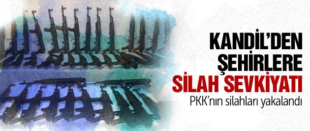 Jandarmadan PKK'ya silah darbesi!
