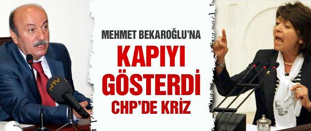 CHP'yi sarsacak Mehmet Bekaroğlu krizi!