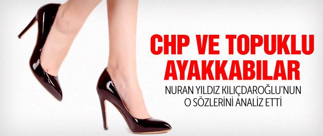 CHP'de mesele sivri topuklu ayakkabı değil