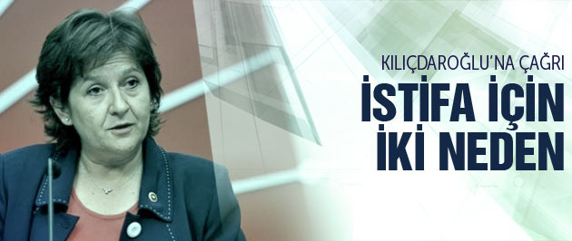 CHP'li Güler Kılıçdaroğlu'nun istifası için 2 neden söyledi