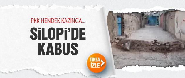 Silopi'de PKK'nın kazdığı hendekler kabus oldu