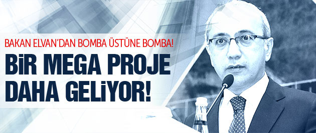 Bakan Elvan'dan mega proje: Çanakkele köprüsü!
