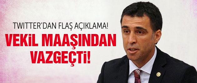 Hakan Şükür vekil maaşından vazgeçti!