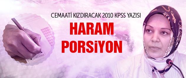 İptal edilen 2010 KPSS'deki 330 Gülen'cinin sırrı