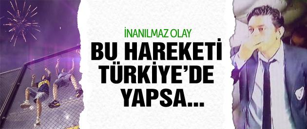 Bu hareketi Türkiye'de yapsa...