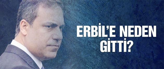 MİT Müsteşarı Hakan Fiden neden Erbil'e gitti?