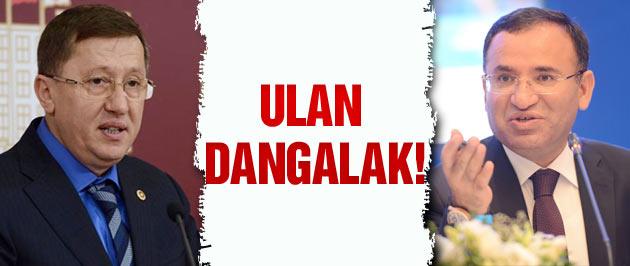 MHP'li Türkkan'dan Bakan Bozdağ'a: Dangalak!