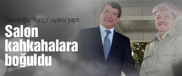 Başbakan'ın 'Kürtçe' uyarısı salonu kahkahalara boğdu