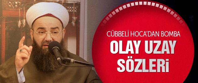 Cübbeli Ahmet Hoca'dan bomba uzay açıklaması