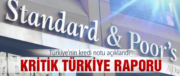 Türkiye'nin kredi notu ne oldu?