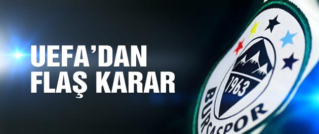 UEFA Bursa'yı yargıya sevk etti