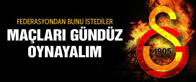 Galatasaray'dan TFF'ye  ilginç öneri