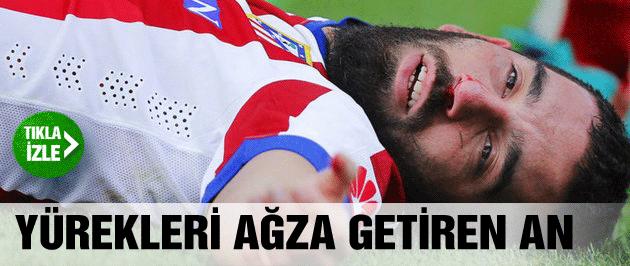 Arda Turan maçta baygınlık geçirdi!