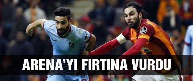 Trabzonspor Galatasaray'ı devirdi