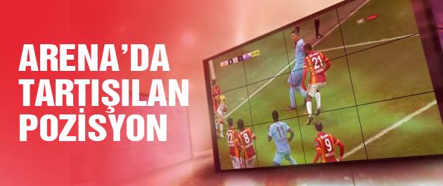 Galatasaray Trabzonspor maçında kader anı!