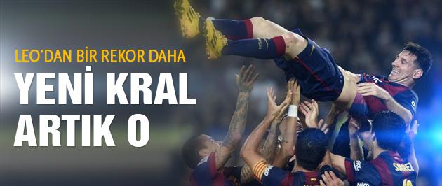 Messi Camp Nou'da tarih yazdı!