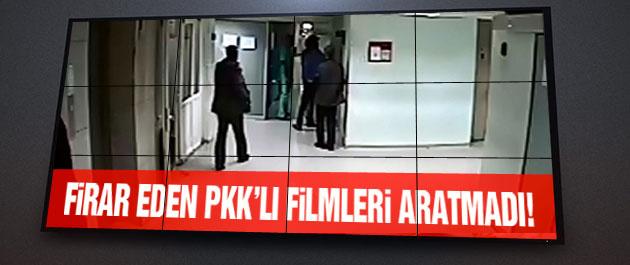 O PKK'lının firar görüntüleri filmleri aratmadı!