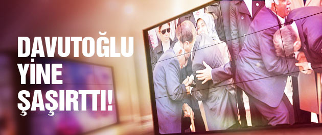 Davutoğlu Tunceli'de yine şaşırttı!
